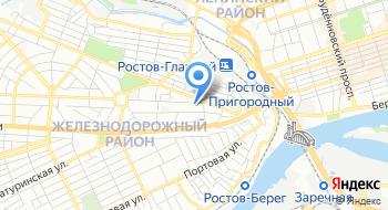 МКУ Отдел образования Железнодорожного района города Ростова-на-Дону на карте