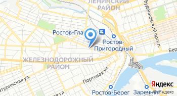 Отдел ЗАГС Администрации Железнодорожного района города Ростов-на-Дону на карте