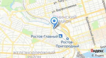 ЖТК Ростовский филиал на карте