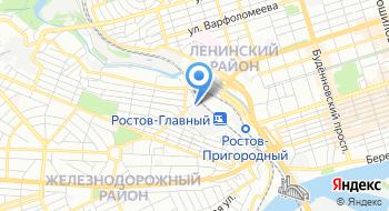 Первичная профсоюзная организация российского Профсоюза железнодорожников и транспортных строителей Ростовского-на-Дону электровозоремонтного завода на карте