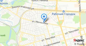 Трин на карте
