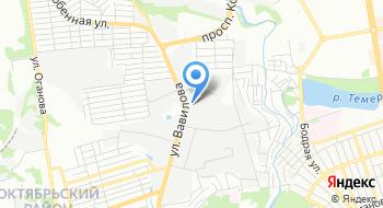 Гласспром Юг на карте