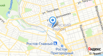 Пограничное управление ФСБ России по Ростовской области на карте