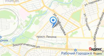 Отдел вневедомственной охраны №4 по Ленинскому и Октябрьскому районам города Ростова-на-Дону на карте