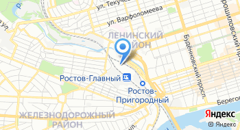 Городское отделение почтовой связи Ростов-на-Дону МСЦ-1 на карте