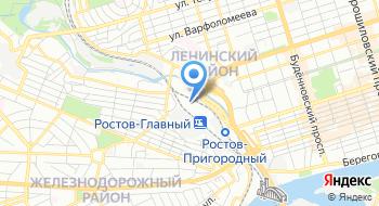 Ростовский магистральный сортировочный центр на карте