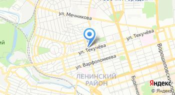 Ростов.Пневмач на карте