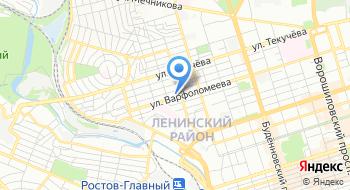 ГБУ Сон РО Социально-реабилитационный центр для несовершеннолетних г. Ростова-на-Дону на карте
