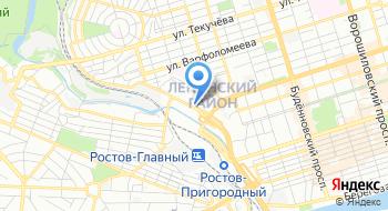 Интернет-магазин Замки61 на карте