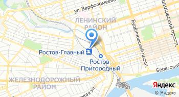 Ростовский ИВЦ на карте