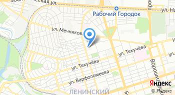 Управление по делам Г0 и ЧС города Ростова-на-Дону Поисково-спасательная служба на карте