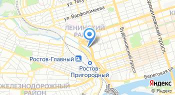 Донавтовокзал на карте