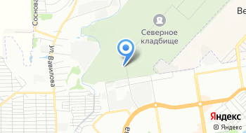 Северное кладбище на карте