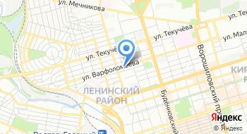 Отель Вилла Дона на карте
