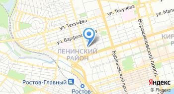 ИФНС России по Ленинскому р-ну г.Ростова-на-Дону на карте