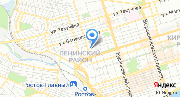 МРИ по крупнейшим налогоплательщикам по Ростовской обл. на карте