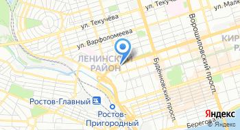ГКУ РО Центр занятости населения г. Ростов-на-Дону на карте