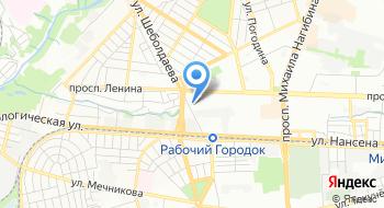 Октябрьский РОСП г.Ростова-на-Дону на карте