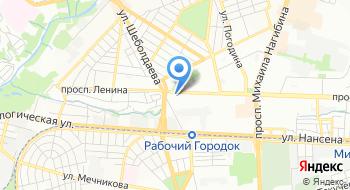 Октябрьский районный суд города Ростова-на-Дону на карте
