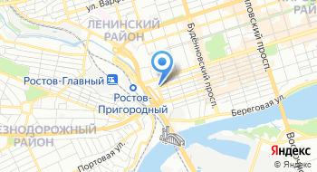Ростовская управляющая компания на карте