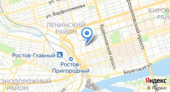 УПФР в Ленинском районе г. Ростова-на-Дону прием страхователей на карте