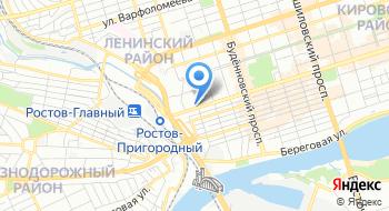 Дирекция по строительству в Южном Федеральном округе Управления капитального строительства Службы обеспечения деятельности Федеральной службы безопасности Российской Федерации на карте