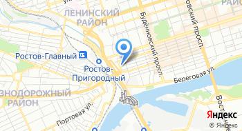 Ростовская дирекция материально-технического обеспечения Структурное подразделение Росжелдорснаб Филиал РЖД на карте