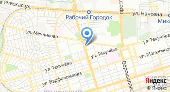 ЮРДВ на карте