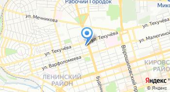 Банк Возрождение, Ростовский филиал на карте