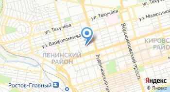Прокуратура Ленинского района г. Ростов-на-Дону на карте