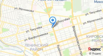 Клуб Эммануэль на Буденновском на карте