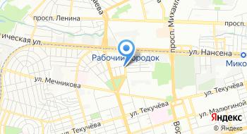 Ростов-безопасный на карте