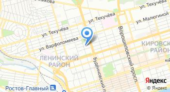 Ростовское региональное отделение партии Яблоко на карте