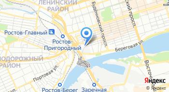 Главное следственное управление по Ростовской области на карте
