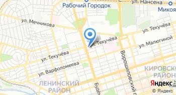 Лукойл-интер-кард, филиал на карте
