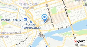 Экс-визит Ростов на карте