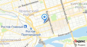 Дч ГУ МВД России по Ростовской области на карте
