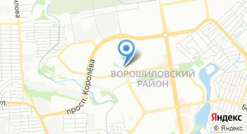 ГКУ Центр занятости населения Ворошиловского района города Ростова-на-Дону на карте