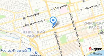 Маринс парк отель Ростов на карте