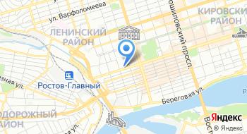 Управление Федеральной службы безопасности России по Ростовской области на карте