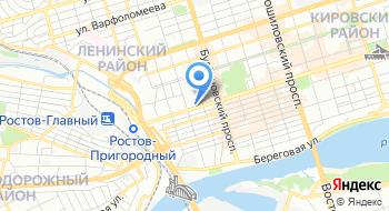 ПУ ФСБ России по Ростовской области на карте