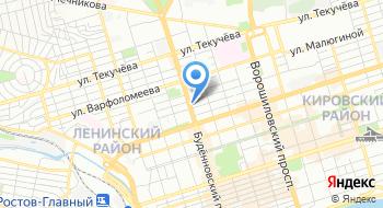 Военная комендатура Гарнизона Первого разряда города Ростова-на-Дону на карте