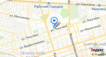 Московская биржа на карте