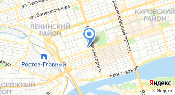 Флайборд Ростов-на-Дону на карте