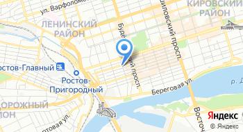 МКУ Отдел образования Ленинского района города Ростова-на-Дону на карте