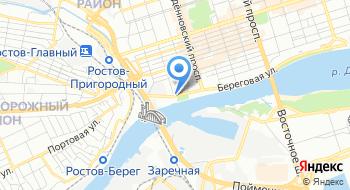 Следственный комитет по Ростовской области на карте