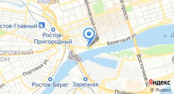 Ростовский филиал ФГУП Ростехинвентаризация - Федеральное БТИ на карте