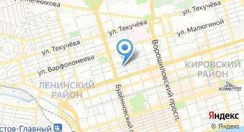 Второй военно-следственный отдел Военно-следственного управления Следственного комитета РФ по Южному военному округу на карте