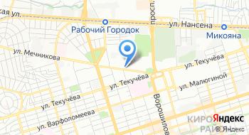 Территориальный орган Федеральной службы государственной статистики по Ростовской области на карте