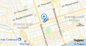 Всероссийское добровольное пожарное общество Ростовское областное отделение на карте